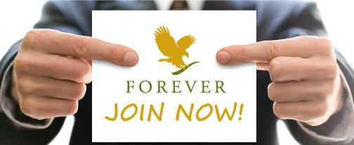 Click here to join/become a Forever Business Owner